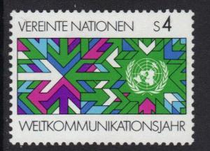 United Nations Vienna 1983 MNH world communication complete