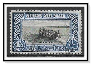 Sudan #C40 Airmail Used