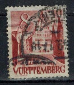 Germany - French Occupation - Wurttemberg - Scott 8N32