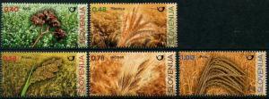 HERRICKSTAMP NEW ISSUES SLOVENIA Grains (Barley, Wheat, Etc.)