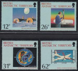 British Antarctic Territory 176-179 MNH (1991)