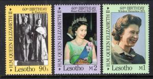 Lesotho 531-533 Queen Elizabeth II MNH VF