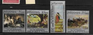 PHILIPPINES, 1149-1152, MNH, PAINTINGS