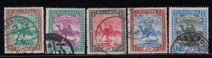 Sudan # 18-19, 23-25  1902-21   Used    SCV $ 3.65