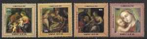 St Lucia 897-899    1987  set 4  VF NH