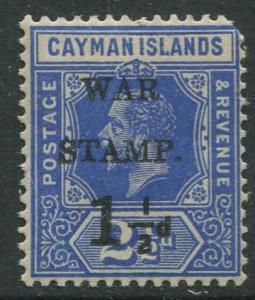 Cayman Islands #MR1 KGV MVLH  Scott CV. $16.00