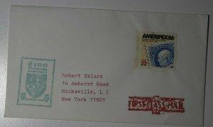 AMERIPEX Intl Stamp Show Chicago IL 1986 Philatelic Expo Cachet Cover