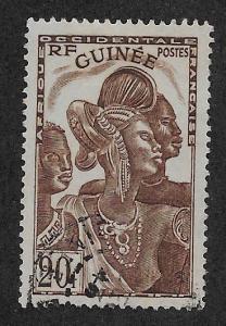 FRENCH GUINEA SC# 160  FVF/U    1938