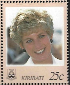 Kiribati 719A 25c Princess Diana Memorial Fund MNH CV$0.50 1998