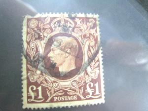 GREAT BRITAIN - SCOTT #275 -  USED