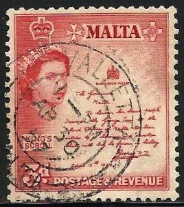 Malta 1956 Scott# 252 Used