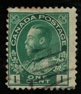 Canada, 1 cents, 1911-1918, King George V in Admiral Uniform (T-6141)