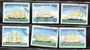 Benin 1996 SC# 850-855