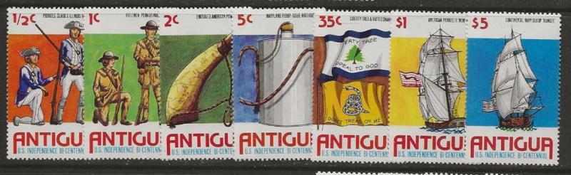 Dollar Special. Antigua 423-429 nh CV $5.80 [aa02]