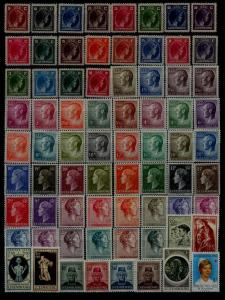 Luxembourg MNH lot Royal family, 134v