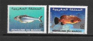 FISH - MOROCCO #933-4  MNH