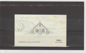 Iceland  Scott#  1385a  MNH Complete Booklet  (2015 Old Buildings)