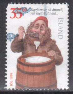 ICELAND   SC# 866D **USED** 35k 1999    SEE SCAN