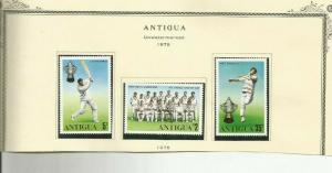 ANTIGUA SCOTT 402-4 MNH