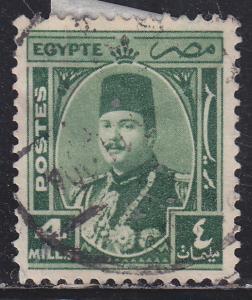 Egypt 245 King Farouk 1945