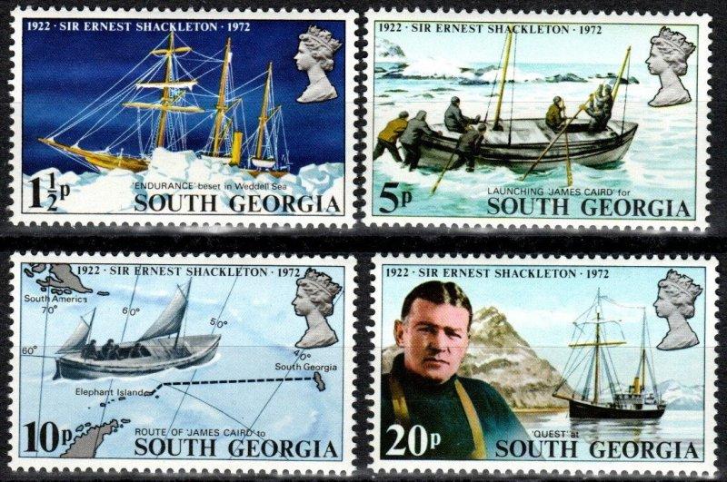 South Georgia #31-4  MNH CV $4.70 (X7439)