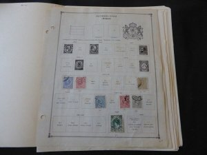 Netherlands 1872-1965 Stamp Collection on Scott International Pages