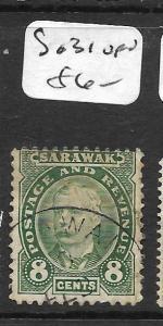 SARAWAK  (PP2803B)  8C  SG 31  VFU