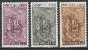 Vatican  1966  Scott No. 445-47  (N**) Complet