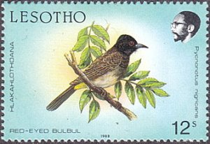 Lesotho # 622 mnh ~ 12s Bird, perf. 15