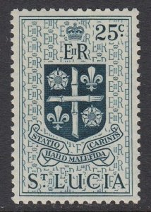 St Lucia 166 Arms mnh