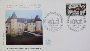 FDC France 1972 Commemorative First Day Cover 14749