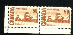Can #465A   Pair   M NH VF 1967-73 PD