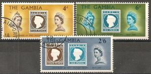 Gambia #238-40 F-VF Used  (ST574)