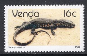 South Africa Venda 140 Lizard MNH VF