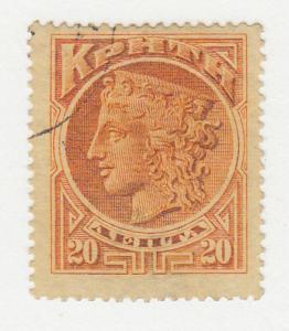Crete - 1901 - SC 65 - Used