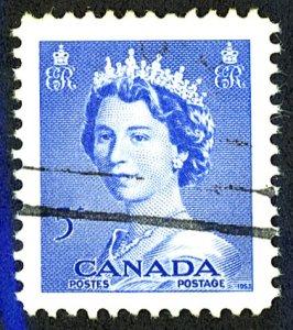 Canada #329 Used