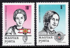 Hungary 3202-3203 MNH VF