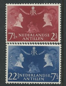 Netherlands Antilles # B26-27  Royal Visit    (2) Unused  VLH