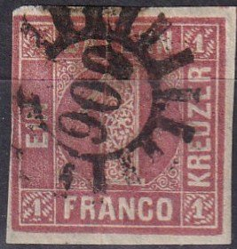 Bavaria #4  F-VF  Used CV $22.50  (Z6815)