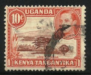 Kenya, Uganda, Tanzania 1938-54 Scott# 69 Used