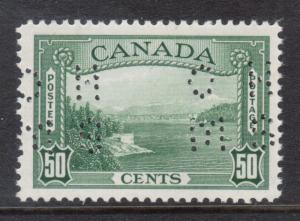 Canada #O244 XF/NH Gem