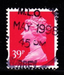 Great Britain - #MH265 Machin Queen Elizabeth II - Used