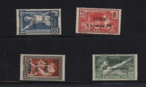 Syria #133 - #136 Mint Set
