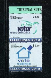 Salvador 1715, MNH, Elections 2012. x31077