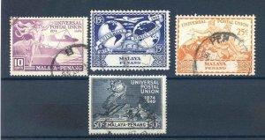 Malaya (Penang) 1949 UPU SG23/6 Fine Used