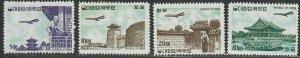 $Korea Sc#C27-C30 M/LH/VF, complete set, Cv. $397.50