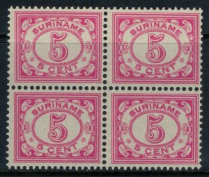 Surinam #82*  Block of 4  CV $6.40