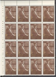 COLLECTION LOT # S43 MAHRA SW#24 1 SHEET OF 20 FOLDED 1967 CV+$60