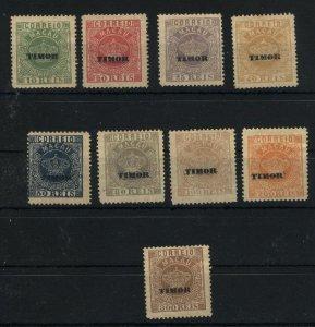 Timor #2-10   Mint  VF 1885 PD