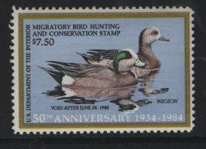 US, RW51, 1984, MNH, DUCK STAMP